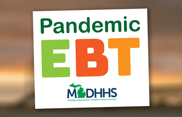 Pandemic EBT in colorful letters