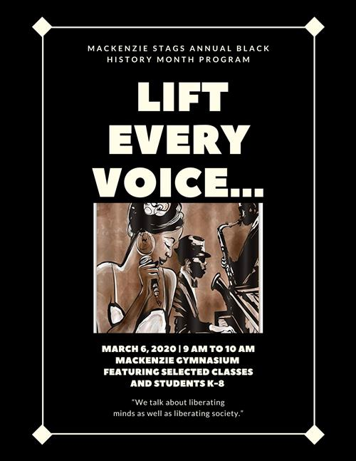 """Lift Every Voice..."""