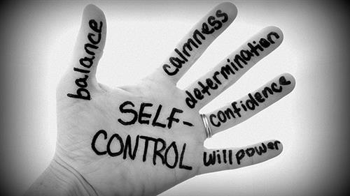 Self Control is Our Character Trait