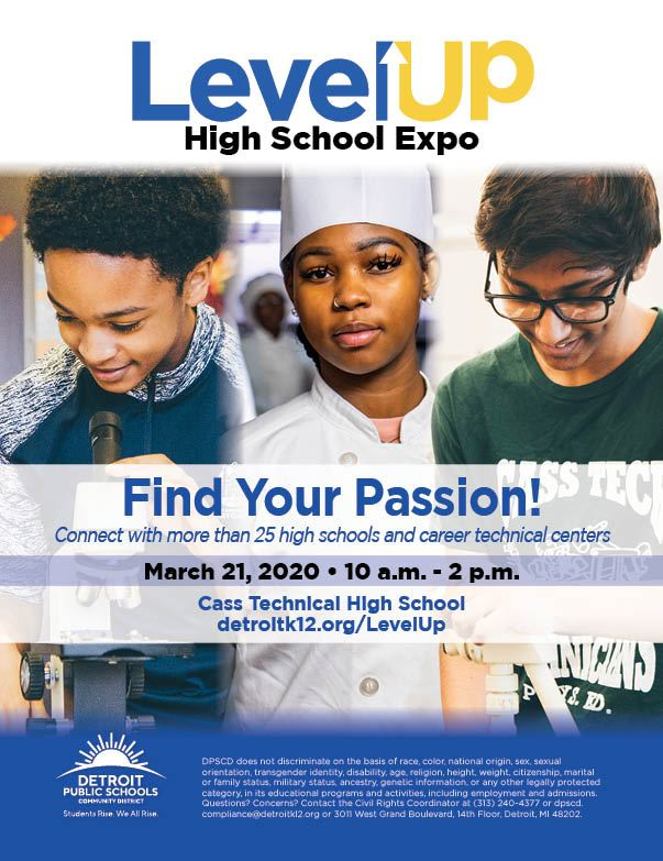 8th Grade Level Up Bus Tour & Expo