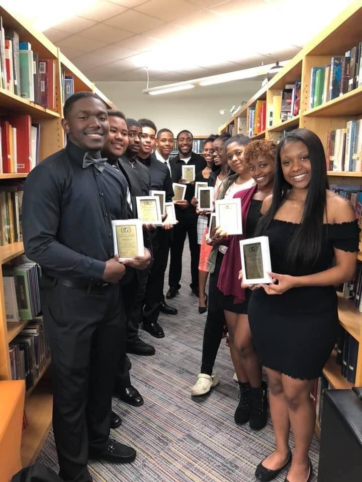 Excellence Awards Recipients in King Media Center
