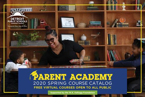 Parent Academy 2020 Spring Course Catalog