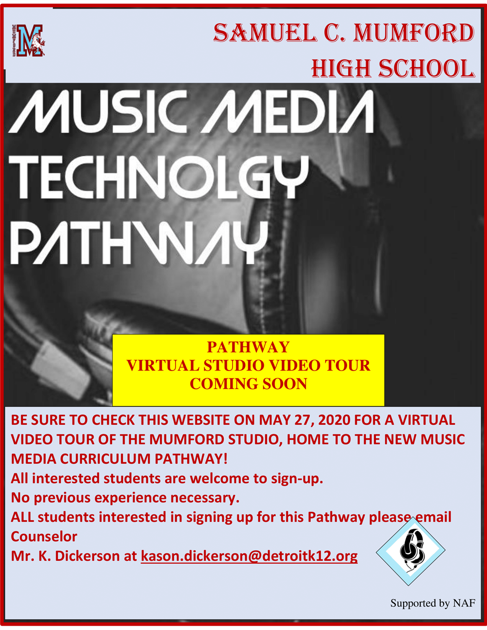 Music and media pathway