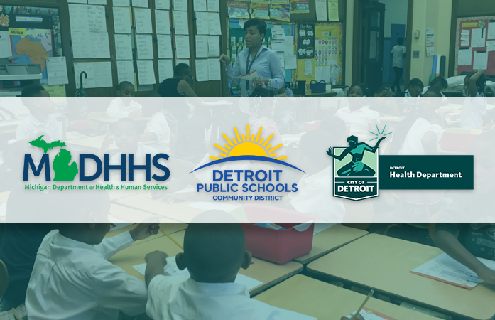 DPSCD and the Department of Health Corona Virus image