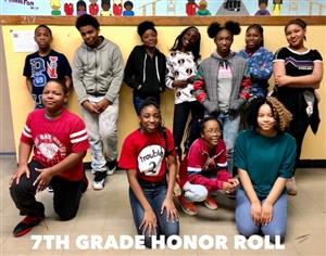 7th grade honor students