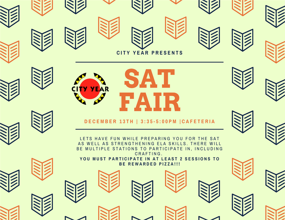 City Year SAT FAIR