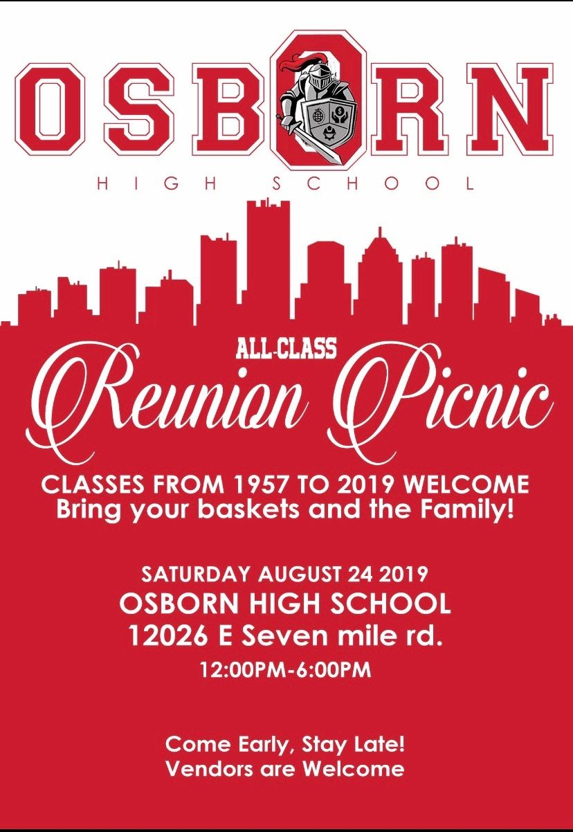 Open House- All Class Reunion Picnic