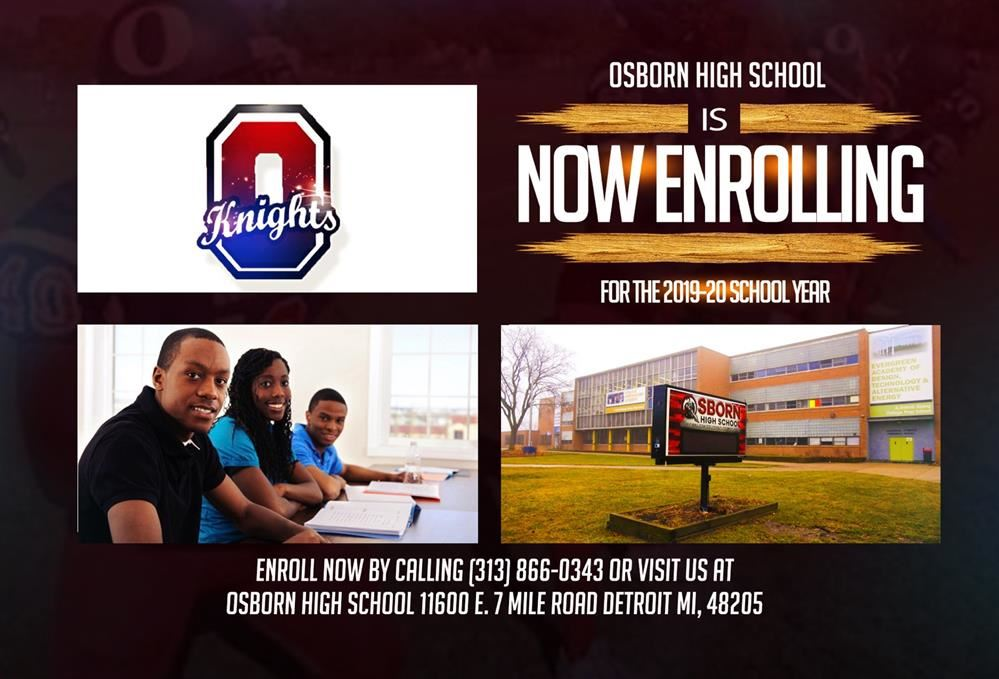 Enrolling for the 2019-2020 year