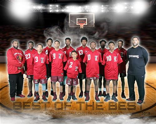 John R King 7th-8th Grade Basketball team picture