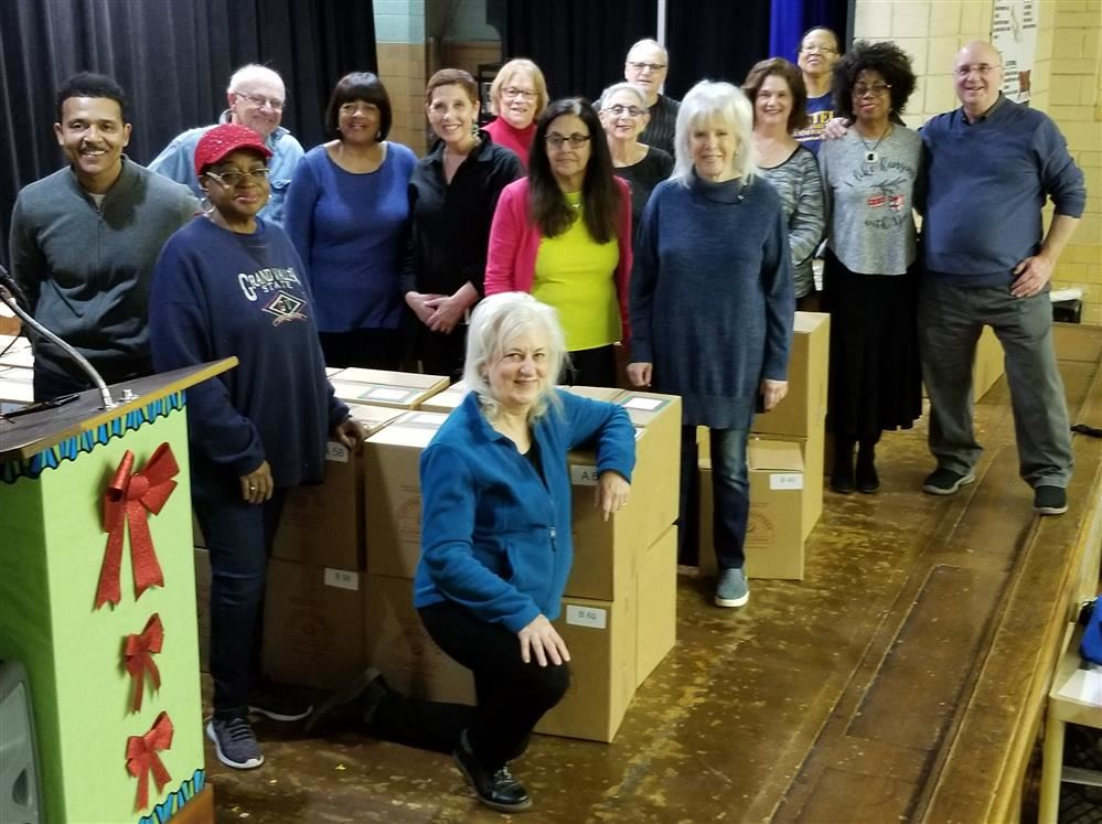 Pasteur Elementary Alumni Foundation Christmas Basket Donations