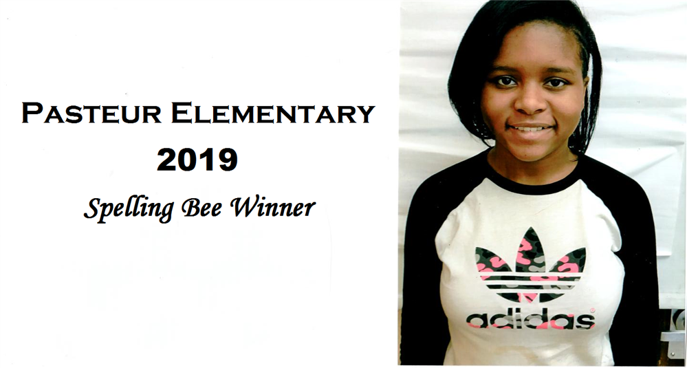 Diamond Dickens - 2019 Spelling Bee Winner