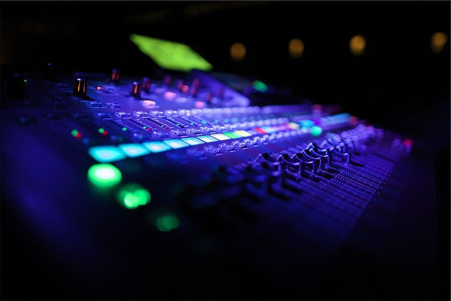 Music Production Sound Board