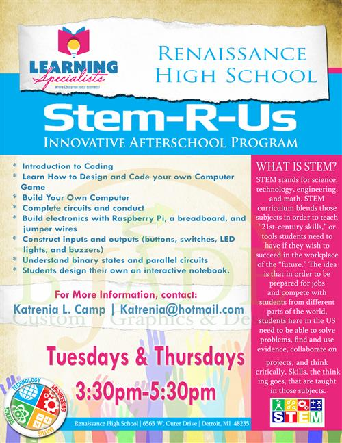 Stem-R-Us Flyer
