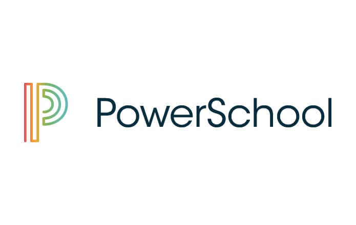 Powerschool official logo with a capital P