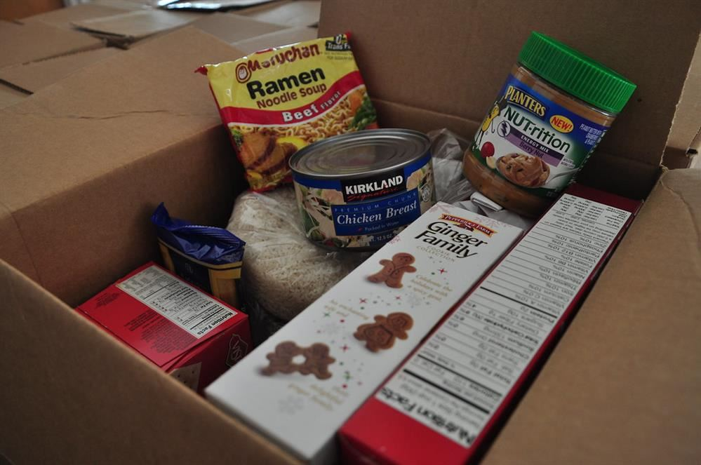 food in a box