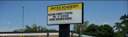 Image of Bates Academy sign