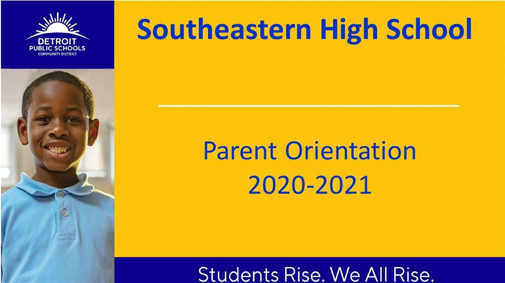 2020-21 Back to School Orientation PowerPoint: How to Access online learning, First Day expectations and More