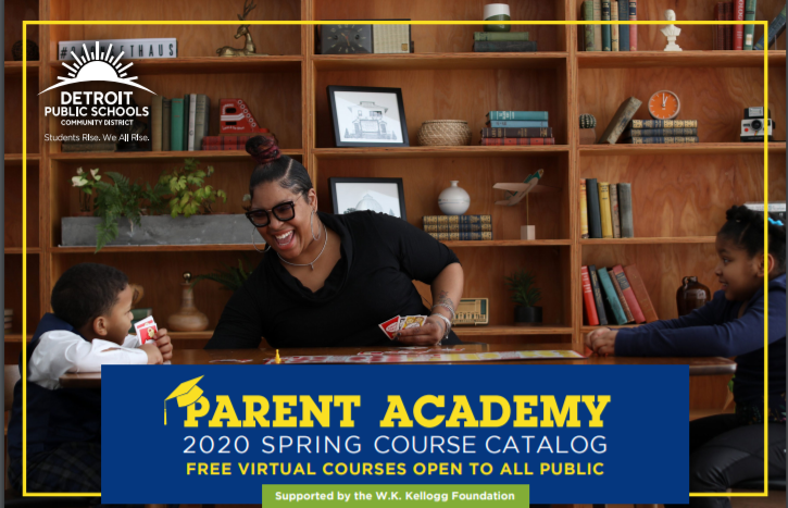 The Virtual  Parent Academy Catalog is Here