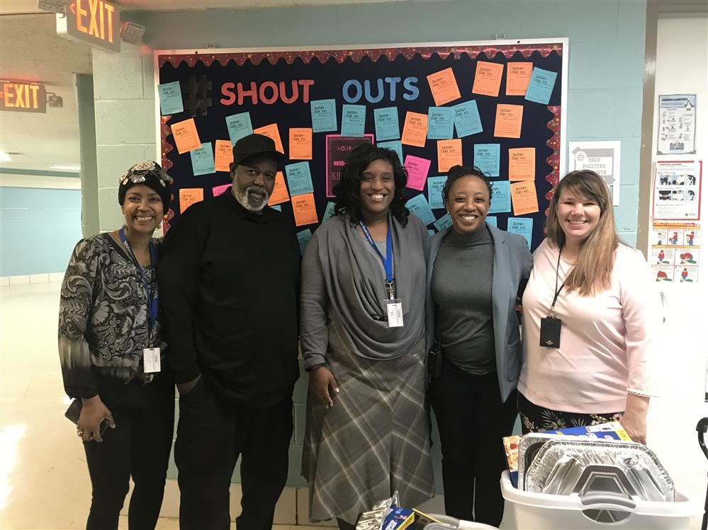 Ms. Richard, Officer Taylor, Dr. Caesar, Ms. Bussey and Ms. Paterson