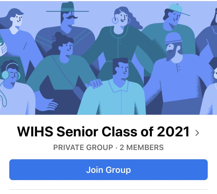 Senior Class of 2021 Join your class Facebook page to stay updated on senior happenings.