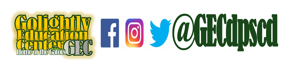 Golightly Education Center on Facebook, Instagram and Twitter @GECdpscd