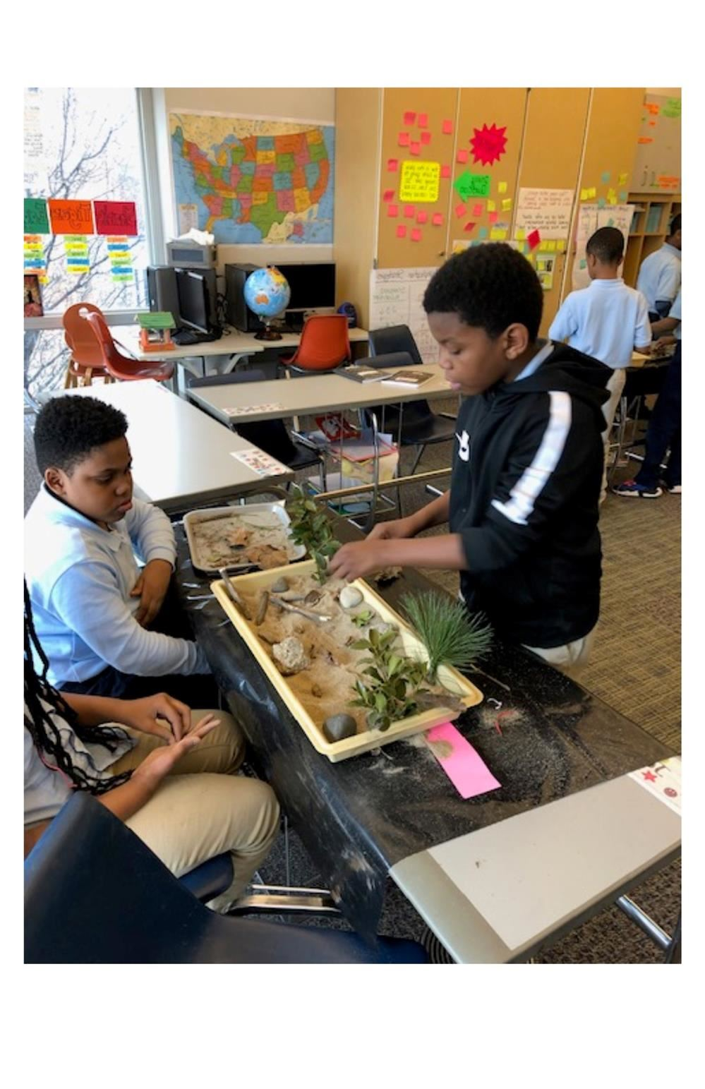 Nature in the classroom
