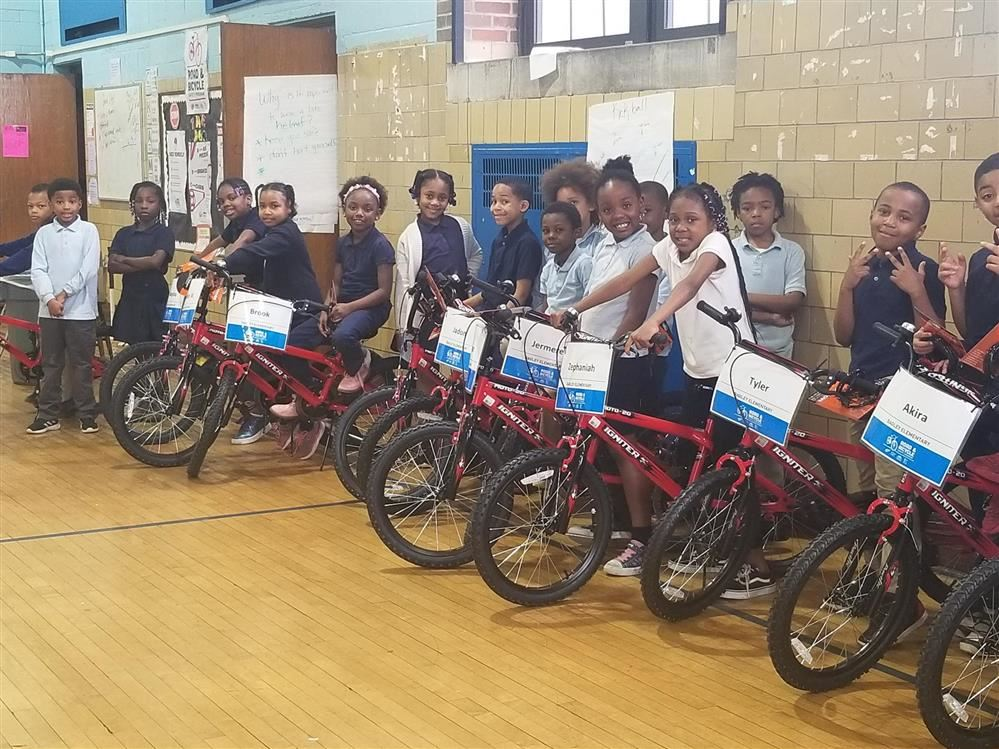 Children on Bikes from Bicycle Safety Program