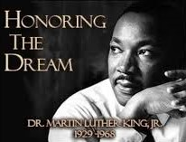 an image of Dr. Martin luther king jr.