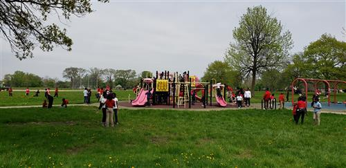 students at playground 1