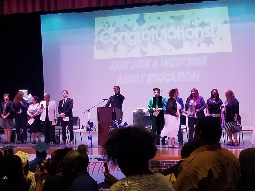 Detroit Public Schools Community District Adult Education Graduation on June 13, 2019.