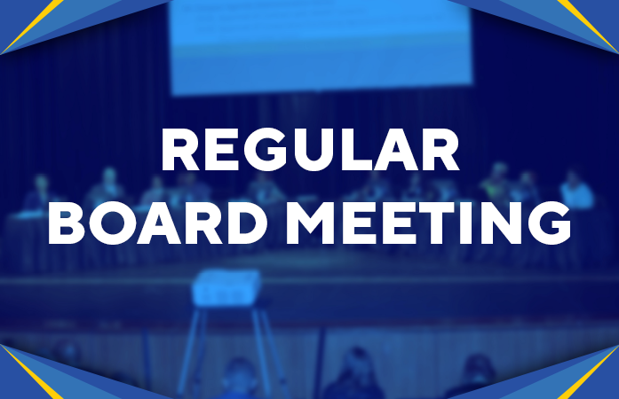 UPDATED 4-7-21 The Board of Education Regular Meeting for April Will be Online Per City Health Dept. Order