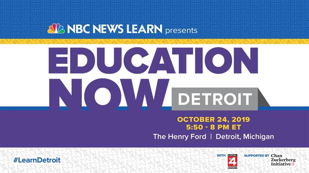 NBC Speaks with Dr. Vitti about Education in Detroit