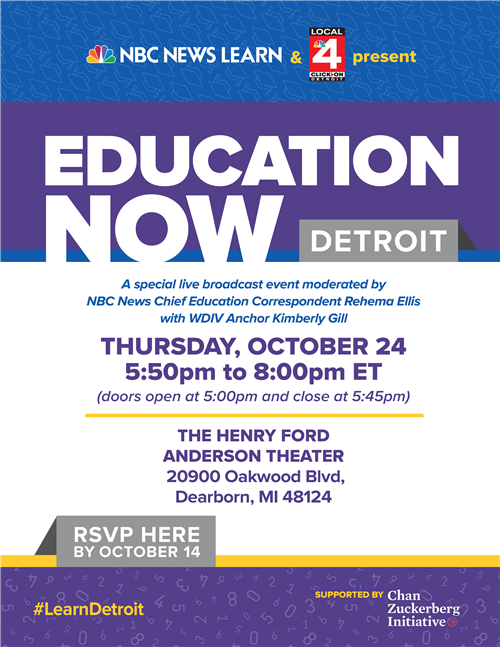 Education Now Flyer