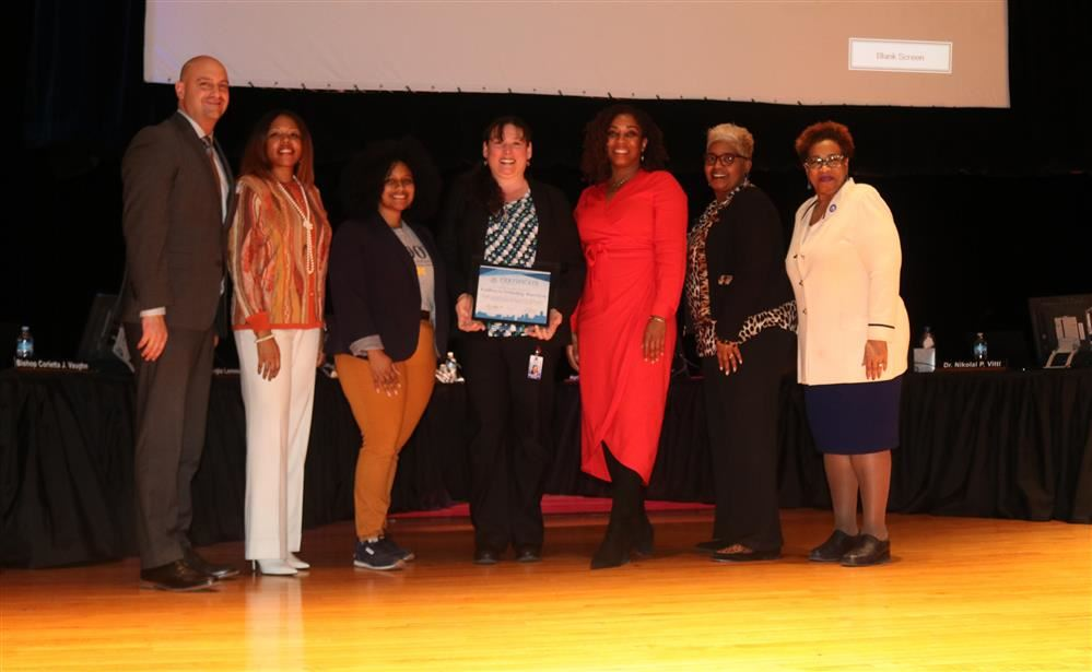 Bennett Principal Recognized for Excellence at the February Board Meeting