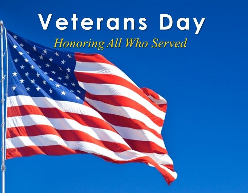 Veterans Day, Honoring All Who Served