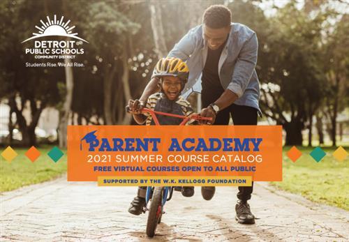 Parent Academy Catalog cover