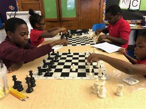 Enthusiasm for chess is infectious at Brewer Academy!