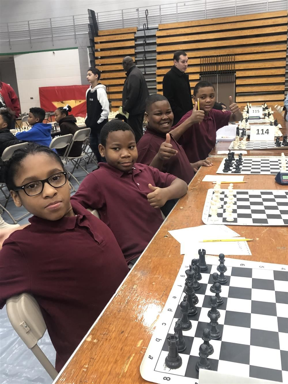 CONGRATULATIONS BREWER TIGER'S CHESS TEAM!!!