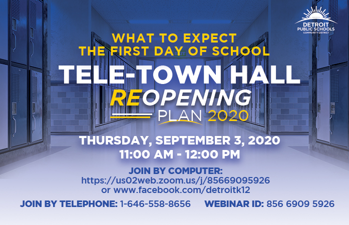 Tele - Town Hall Reopening Meeting