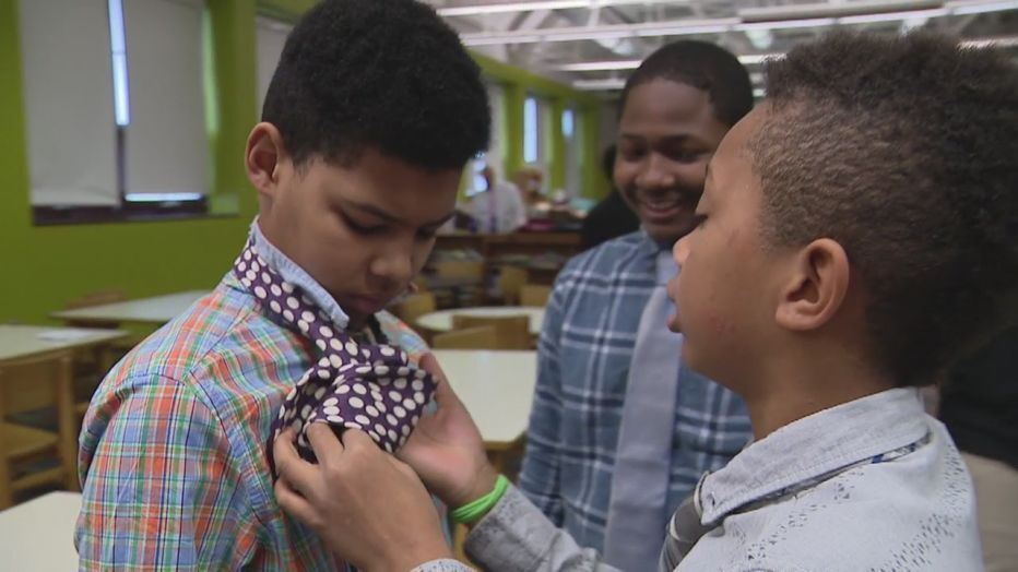 Bunche Students Learn Valuable Skills from DPD in Mentorship Program (Fox 2 News)