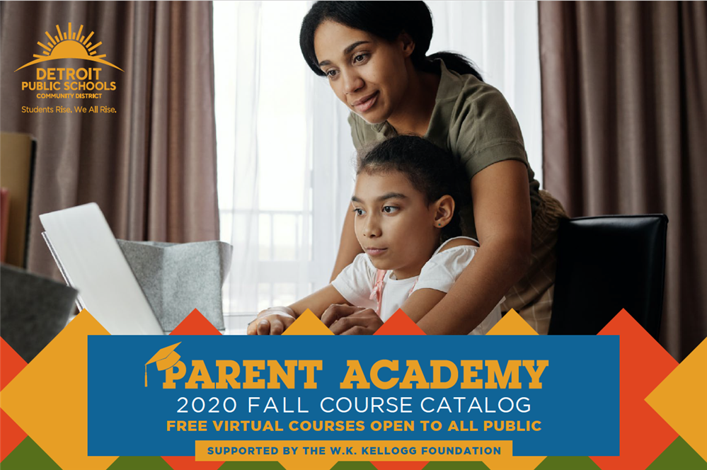 Parent Academy Fall Catalog