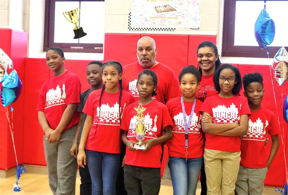 Bunche Academy's Chess Team