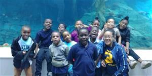 Burns 1st Grades at Detroit Zoo