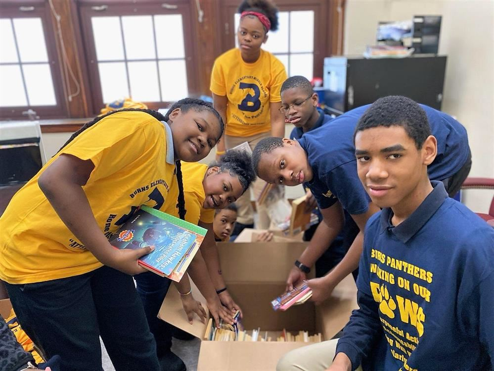 Student Council Pack Books for Uganda