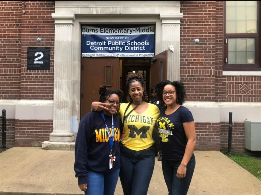 Burns Staff Dress for National College Awareness Month
