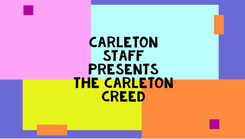 Our Carleton Creed