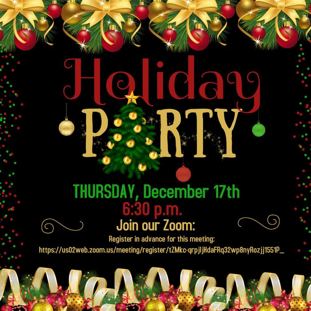 Brought to You by CT PTSA: A Holiday Party