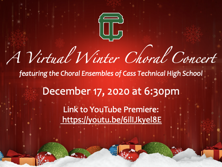 Join Us! For Our Virtual Winter Concert