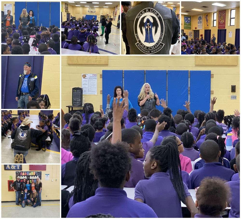 Warriors For The Children Anti-Bullying Assembly
