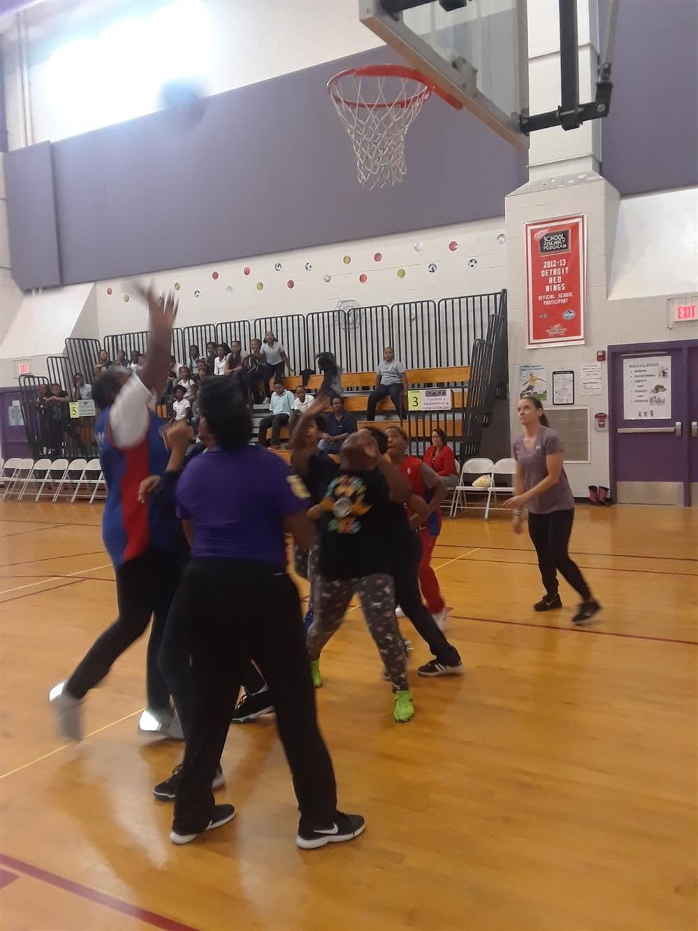 Staff vs Students Basketball Game